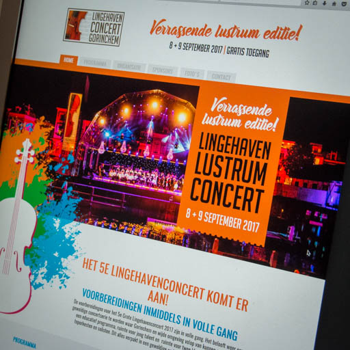 Website Lingehavenconcert